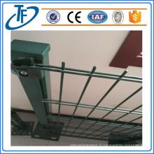 Clôture en maille moulée en PVC soudée en PVC fabriquée à Anping (Chine en gros)