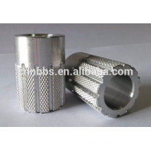 cnc boring aluminum excavator pins and bushings