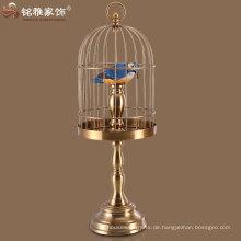 bronze Farbe Eisen Käfige für Vogel sowohl hängende und stehende Käfige Vogel für zu Hause Innendekoration