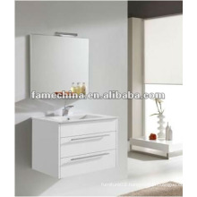 Hangzhou wall white gloss bathroom cabinet/vanity/furniture glossy paint