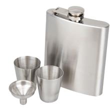 Hot Sale custom 7 oz Metal Whisky Stainless steel hip flask