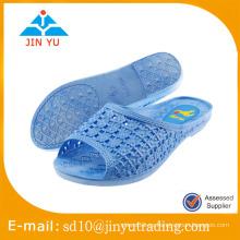 2016 China zapatillas pvc jieyang fabricantes sandalias deslizador de las mujeres