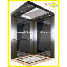 Ascensor de diseño de edificios residenciales con motor de ascensor sin engranajes
