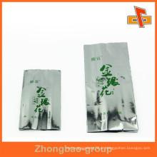 OPP alumínio Foiled sacos de chá de nylon vazio para chá preto chá verde