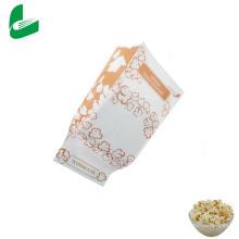Sacs d'emballage de maïs soufflé micro-ondes en papier sulfurisé Kraft