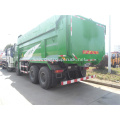 6*4 articulated dump truck with environmental protection cover