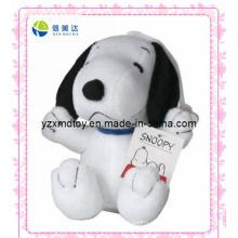 White Snoopy Cartoon Plush Doll (XMD-0067C)
