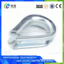 Bright Zinc Plated Din 6899b Wire Rope Thimble