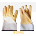 Cotton Jersey Latex Wave Crinkle Glove