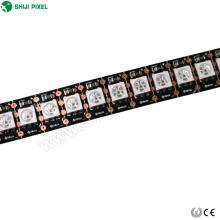 luces de tira flexibles impermeables de la luz de la cuerda llevada color de 12 voltios del color para los coches 5050rgb tira llevada de la luz 144 LED pixel 12v