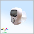 Fasional promotional gift ring hand white muslin finger digital tally counter