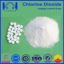 Tablette désinfectante à base de dioxyde de chlore pour l'eau de piscine
