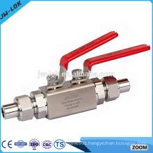 Stainless steel 1 inch full welded ball valve
