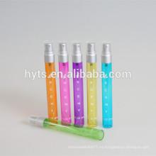 frasco de perfume de plata de diferentes tamaños de pulverización de plata mate