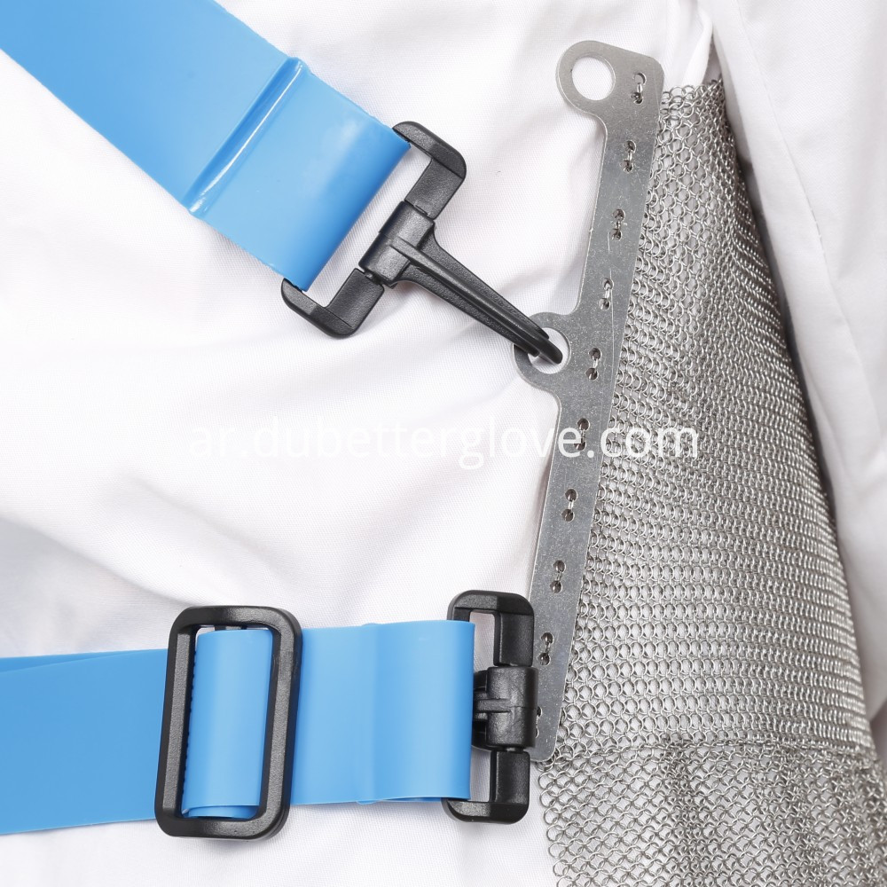 stainless steel chain mail butcher apron