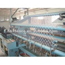 Machine de clôture de maillon de chaîne Machine de maille tissée