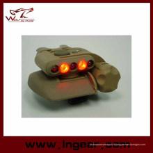 Airsoft sécurité casque léger casque militaire de LED éclairage LED bleu 3 intensités