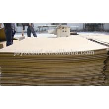 decorative hardboard panels 4x8 waterproof hardboard 2mm