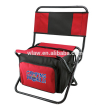 Cadeira de acampamento de pesca com saco mais frio