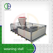 Hot Dip Galvanized Pipe Livestock Equipment Pig Weaner Stall