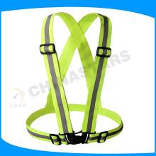 Cinturón de seguridad reflectante de alta visibilidad OEM
