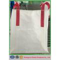 100% nouveau grand sac tissé vierge de pp, sac jumbo FIBC pour le ciment, la chaux, le sel, le minerai de fer, la silice