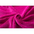 Plüschkorallen-Fleece-Stoffmaterial für Decke