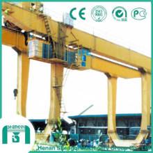 Capacidad de la grúa pórtico de doble viga 30 toneladas en tipo U