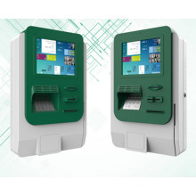 Mounted Kiosk Enclosure Cabinet with Printer