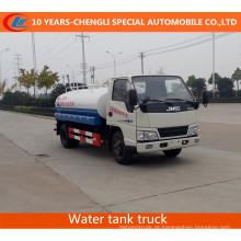 Caminhão molhando do caminhão de tanque 5cbm da água de JAC 4X2