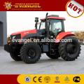 Preço barato de KAT 1804 180HP 4WD trator agrícola com carregador frontal e retroescavadeira
