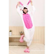 Regalo de Navidad cosplay pijamas animales lindo conejo invierno pijamas