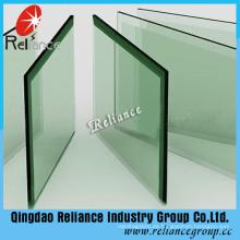 19mm Klar Float gehärtetes Glas für Balkon Fechten