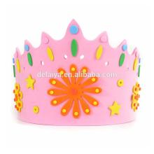 EVA Crown Cap DIY EVA happy birthday toys for kids