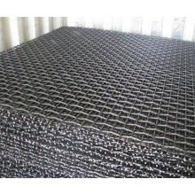 Écran à fil en acier à haute teneur en carbone / Écrans miniers Mesh / maille à sertir