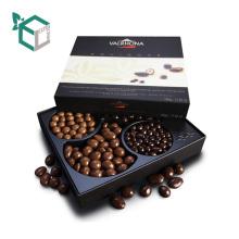 Переработанного кофе Упаковывая с бумажной коробкой рисовать