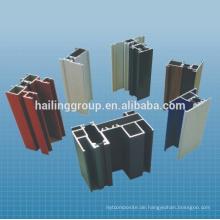 Extrudiertes Aluminiumprofil für Fenster und Türen