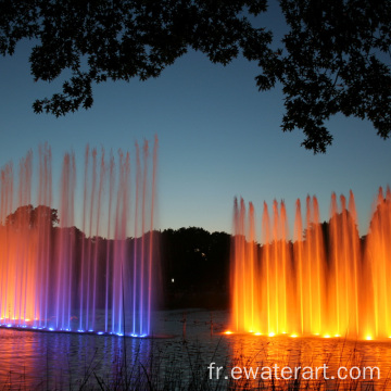 Fontaine musicale Ewaterart pour sites pittoresques
