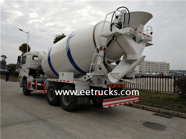 SHACMAN Cement Mixer Trucks
