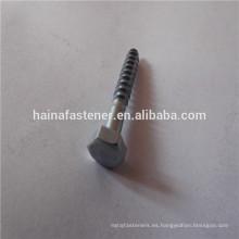 Zinc plateado Tornillos de madera (M4-M20)