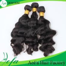 Hohe Qualität 100% brasilianische Haarkörperwelle Haarverlängerung