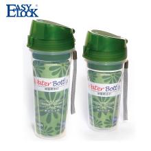 армия пустой пластиковый прозрачный Частная этикетка бутылки воды