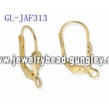 Fan earring findings jewelry accessories