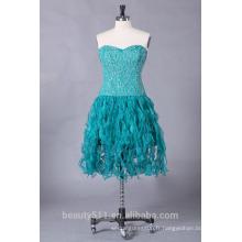 2017 Astergarden organza sweetheart robe de soirée courte bretelles ED107
