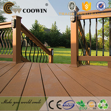 100% WPC Material Holz Textur Oberfläche WPC / Outdoor Decking