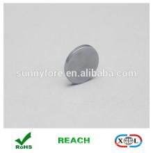 round shape zinc coating refrigerator magnet