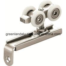 Gleitrollen-Hardware für Holztüren mit Aluminium-Legierungsschiene