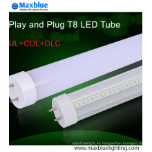 UL Dlc cUL aprobado 5feet 25W T8 LED tubo de luz