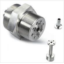 CNC поворачивая подвергающ механической обработке из нержавеющей стали модели винт деталей машин