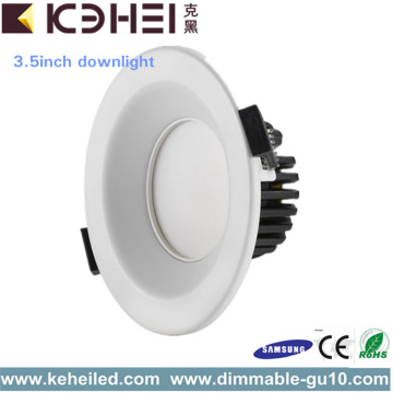 9W 2.5 o 3.5 pulgadas LED Downlights Aluminio